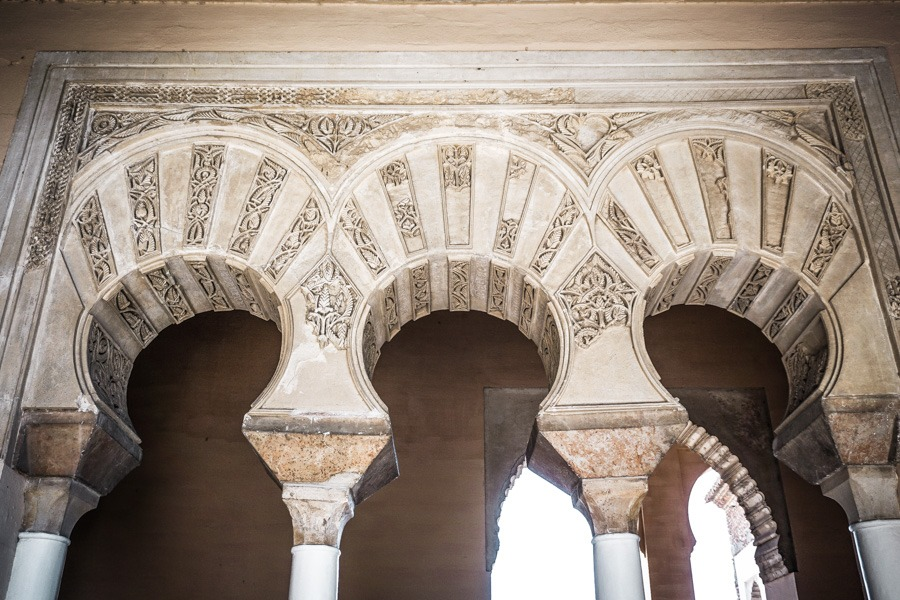 Moorish architecture in the Alcazaba