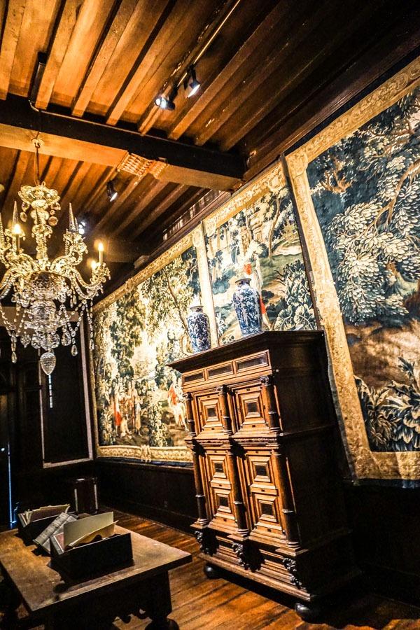 Inside the Plantin Moretus Museum
