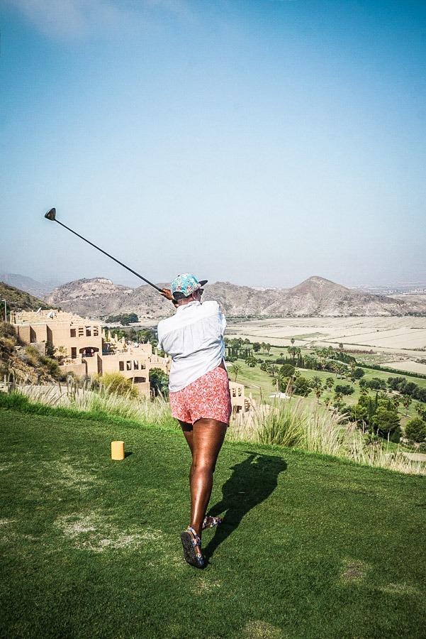 Golf at La Marina Golf Course, Mojacar