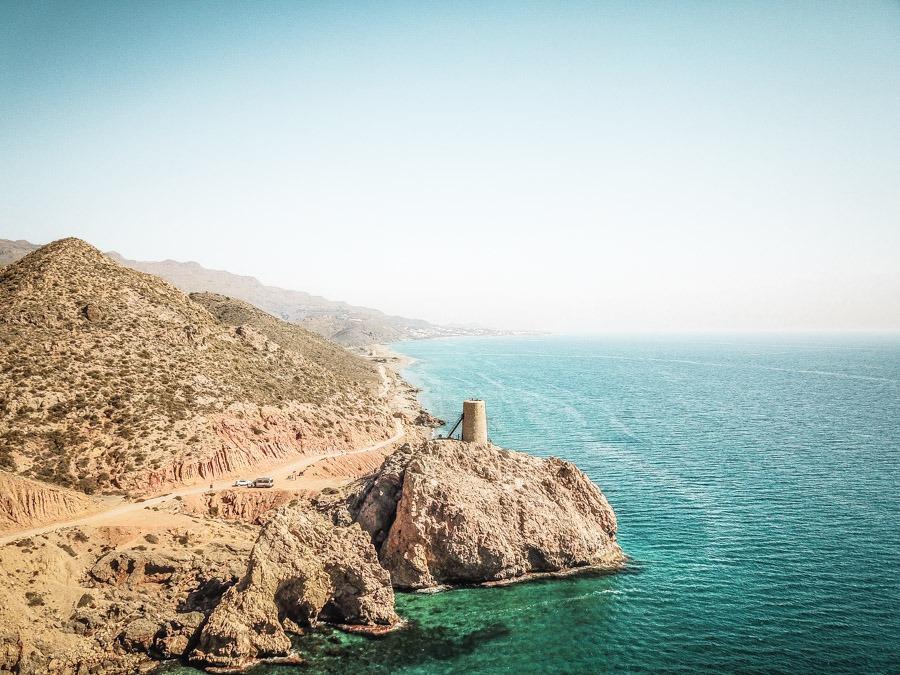 Mojacar Coastline, Spain