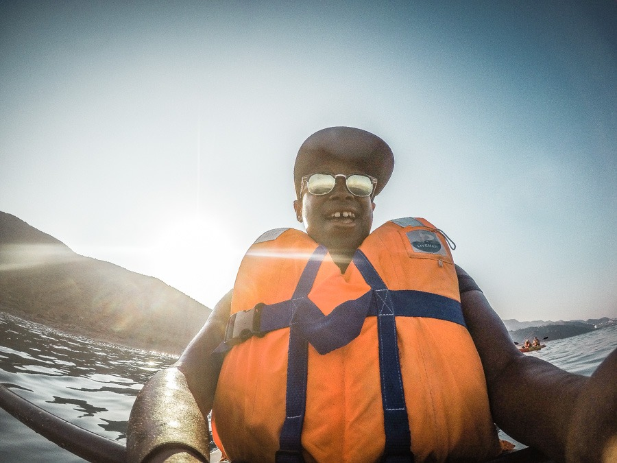 Kayaking in Mojacar