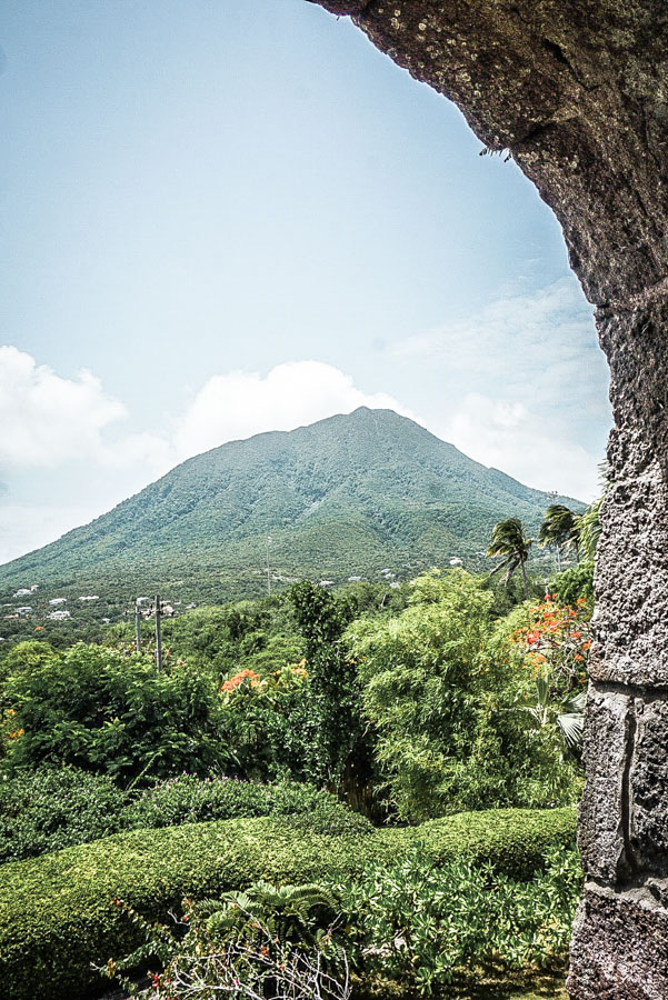 Views of Nevis Peak from The Montpelier