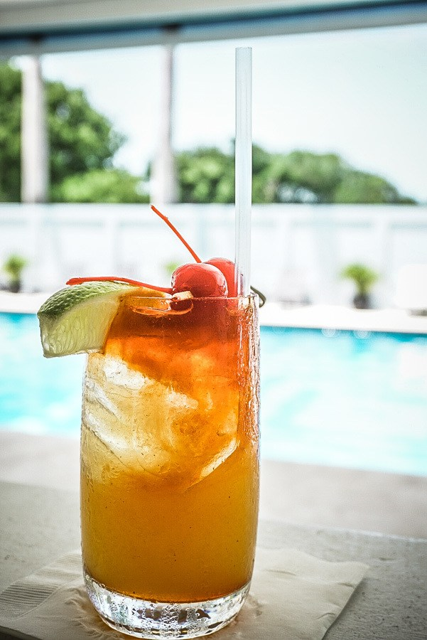 Rum Punch at the Montpelier Nevis