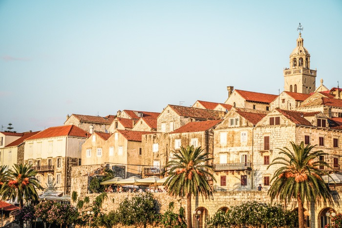 Korcula Old Town,