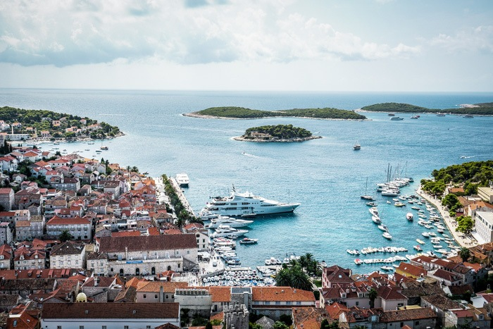 Views of Hvar from the Fort