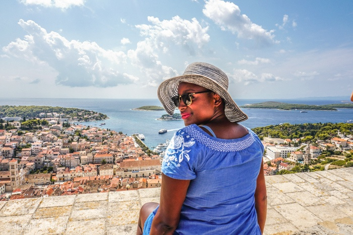 Views from Hvar Fortress,