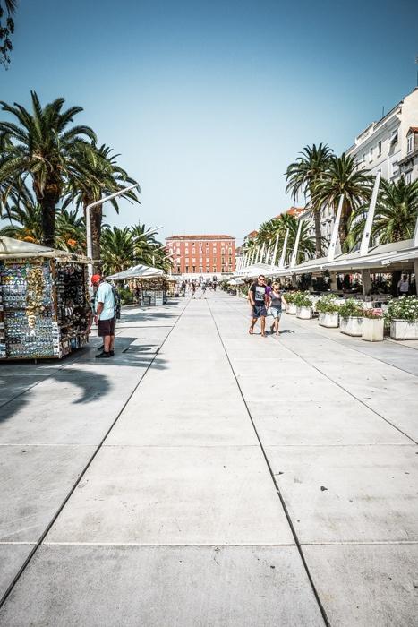 Riva, Split.