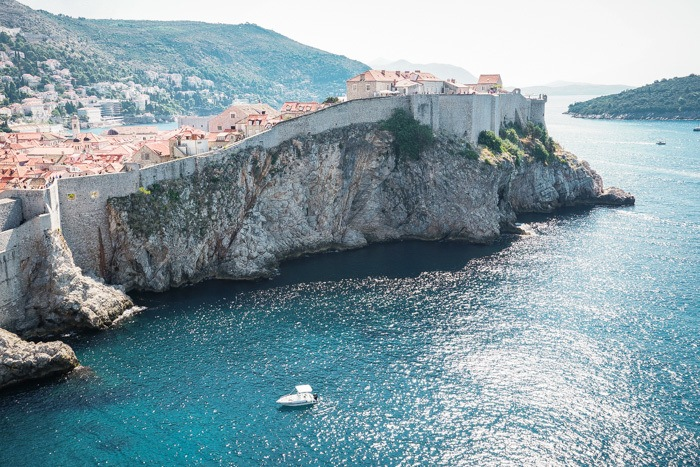 Gorgeous views of Dubrovnik