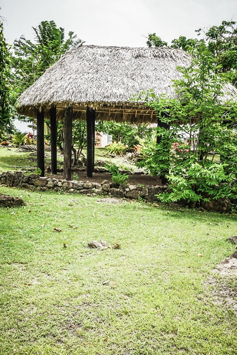 Carob huts at the Nevis Heritage Village #travel #caribbean #traveldestinations