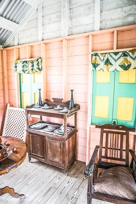 Houses from the fifties and sixties on Nevis #travel #caribbean #traveldestinations