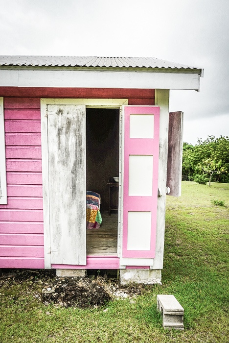 One of the later houses in the Nevis Heritage village #travel #caribbean #traveldestinations