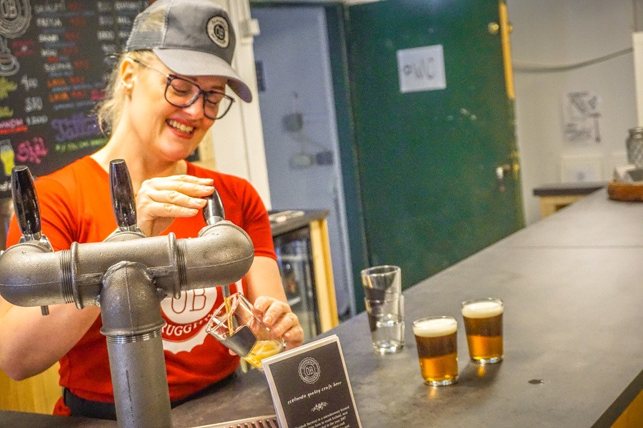 Olvisholt Microbrewery. Traveling to Iceland is a trip of a lifetime. Here's what you need to know to budget your trip. Costs of popular things to do in Iceland and trip planning tips included #traveltips #budget #Iceland