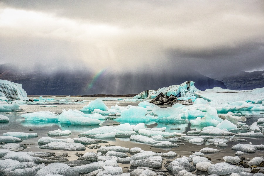 Jokulsarlon Glacier Lagoon. Traveling to Iceland on the cheap. It might sound impossible but it can be done. Use my Iceland budget planning guide to help you plan your Iceland adventure #travel #traveltips #iceland