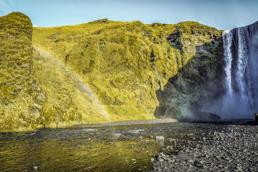 Skogafoss 18 Iceland waterfalls that need to be seen to be believed. Photography hotspots, beautiful landscapes - don't miss them on your next trip. Complete with a map! #landscapes #photography #europe