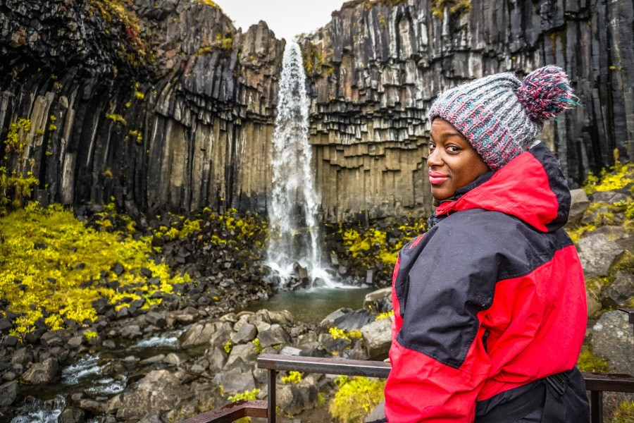 Svartifoss. 18 Iceland waterfalls that need to be seen to be believed. Photography hotspots, beautiful landscapes - don't miss them on your next trip. Complete with a map! #landscapes #photography #europe