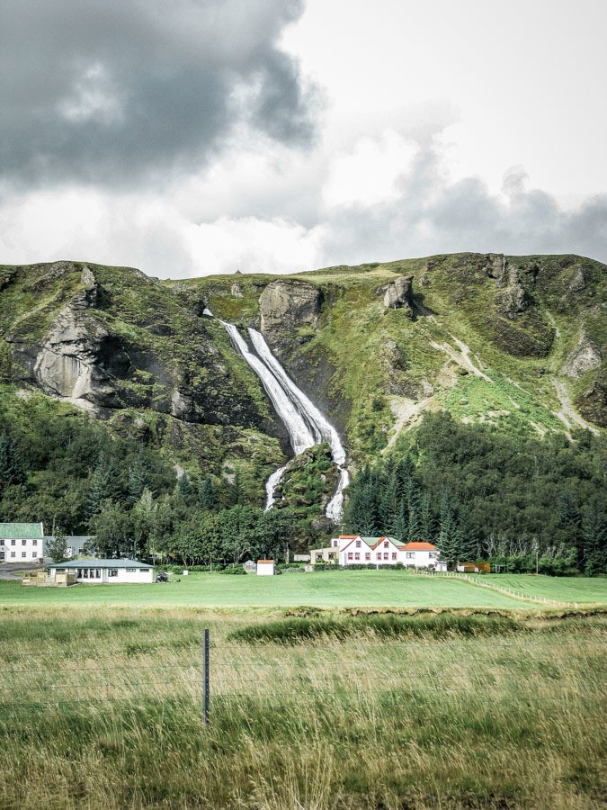 Systrafoss Iceland. 18 Iceland waterfalls that need to be seen to be believed. Photography hotspots, beautiful landscapes - don't miss them on your next trip. Complete with a map! #landscapes #photography #europe
