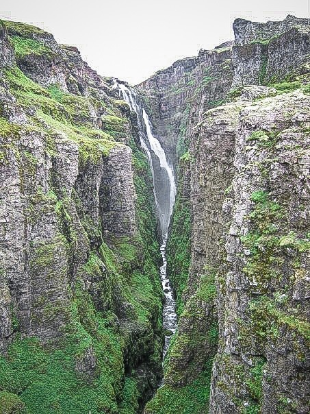 Glymur. Iceland's waterfalls are the stuff of legends. Gullfoss, Skogafoss, the Falls of the Gods - these beautiful places are a must for your travel bucket list. 18-must see waterfalls, complete with a map to help you plan your trip #travel #iceland #bucketlist