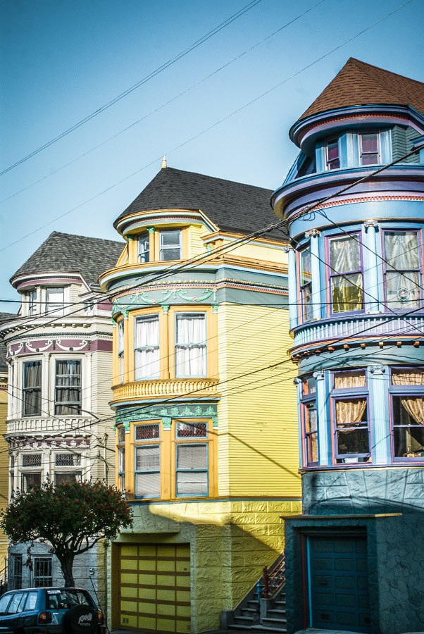 Painted Ladies. San Francisco is one of California's coolest travel destinations. The perfect San Francisco itinerary for your travels. What you must visit, the best places to stay and best things to do! #thediscoveriesof #USA #travel