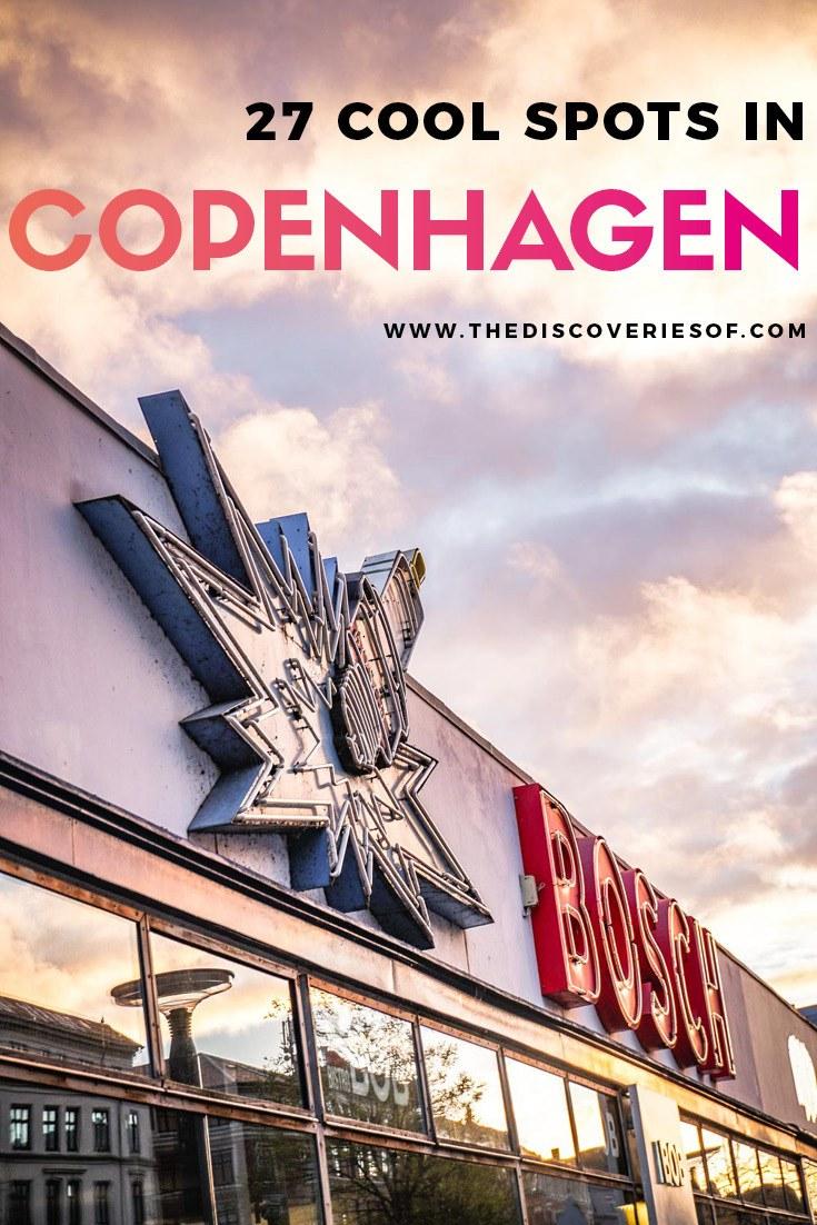 Cool things to do in Copenhagen Denmark