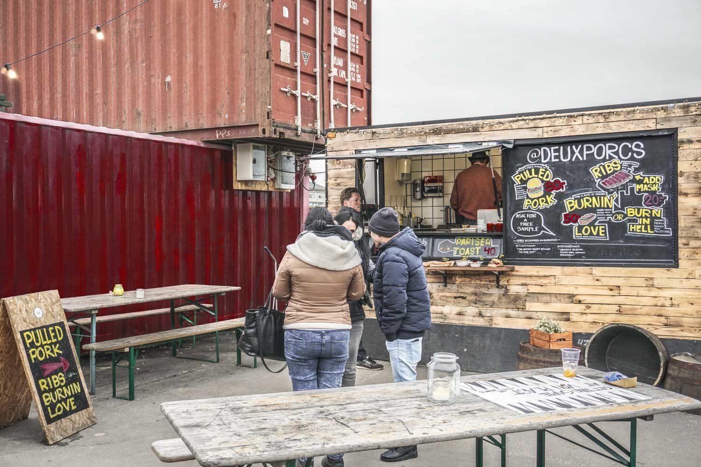 Street food at Copenhagen food market Reffen
