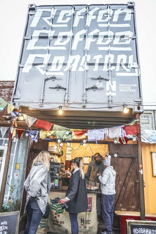 Great coffee spot in Copenhagen's street food market Reffen