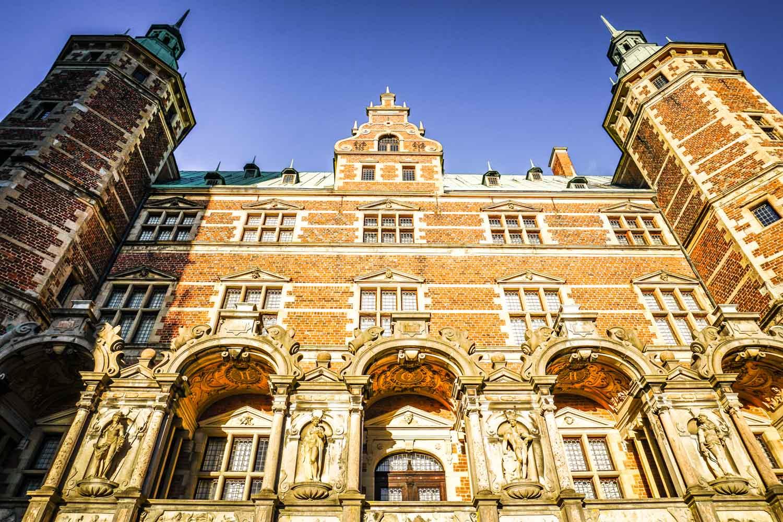 Exterior of Frederiksborg castle