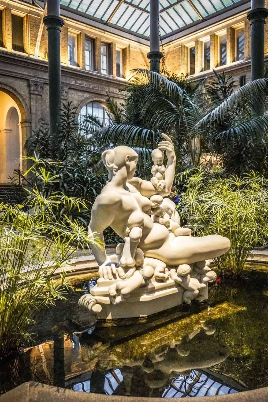 Atrium at Carlsberg Glyptotek