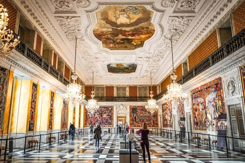 Inside Christiansborg