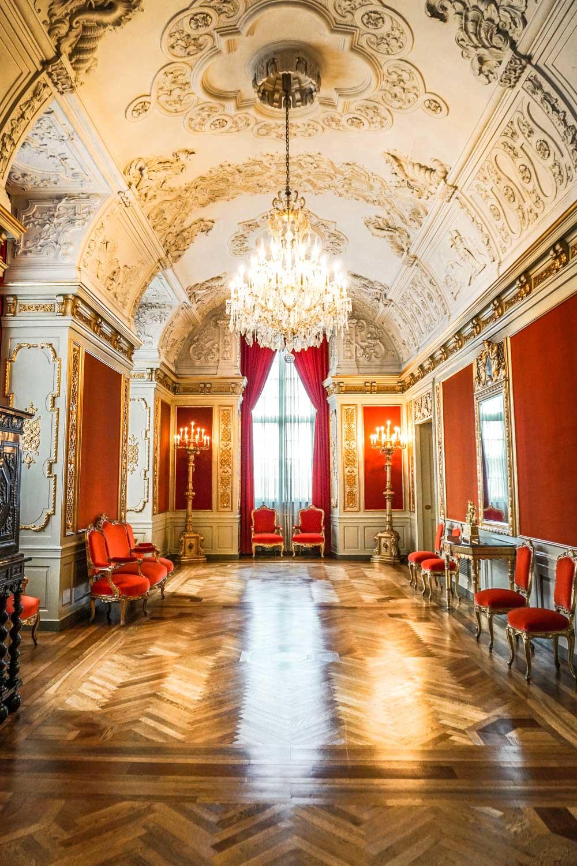 Inside Christiansborg Slot