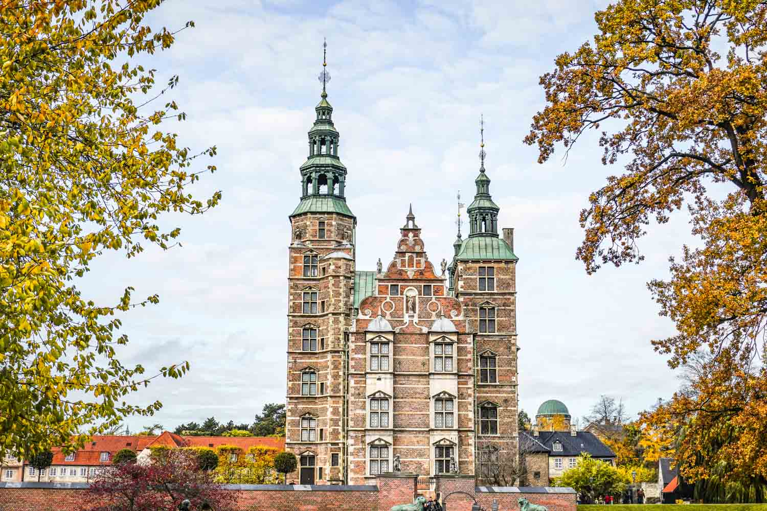 Rosenborg Slot - one of the places that is free to enter with the Copenhagen Card