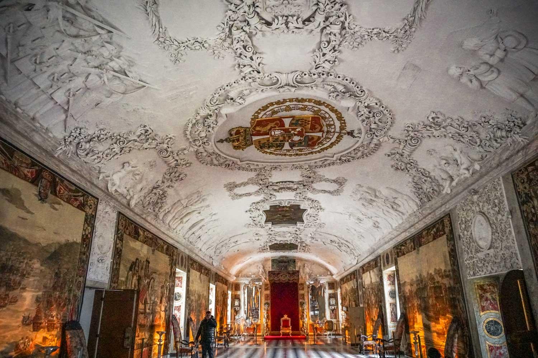 Inside Rosenborg Palace Copenhagen