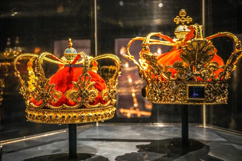 Crown Jewels at Rosenborg Palace Copenhagen