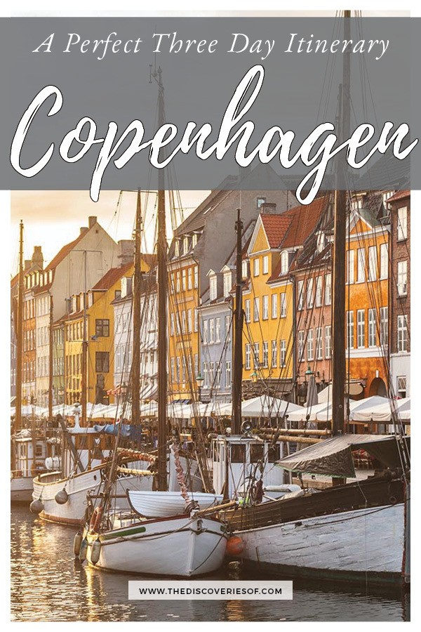 Copenhagen city break. Awesome things to do in Copenhagen in three days!