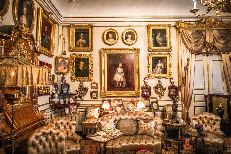 Inside the Amalienborg Palace