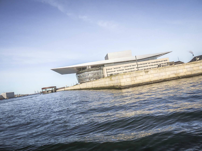 Danish Opera House in Copenhagen