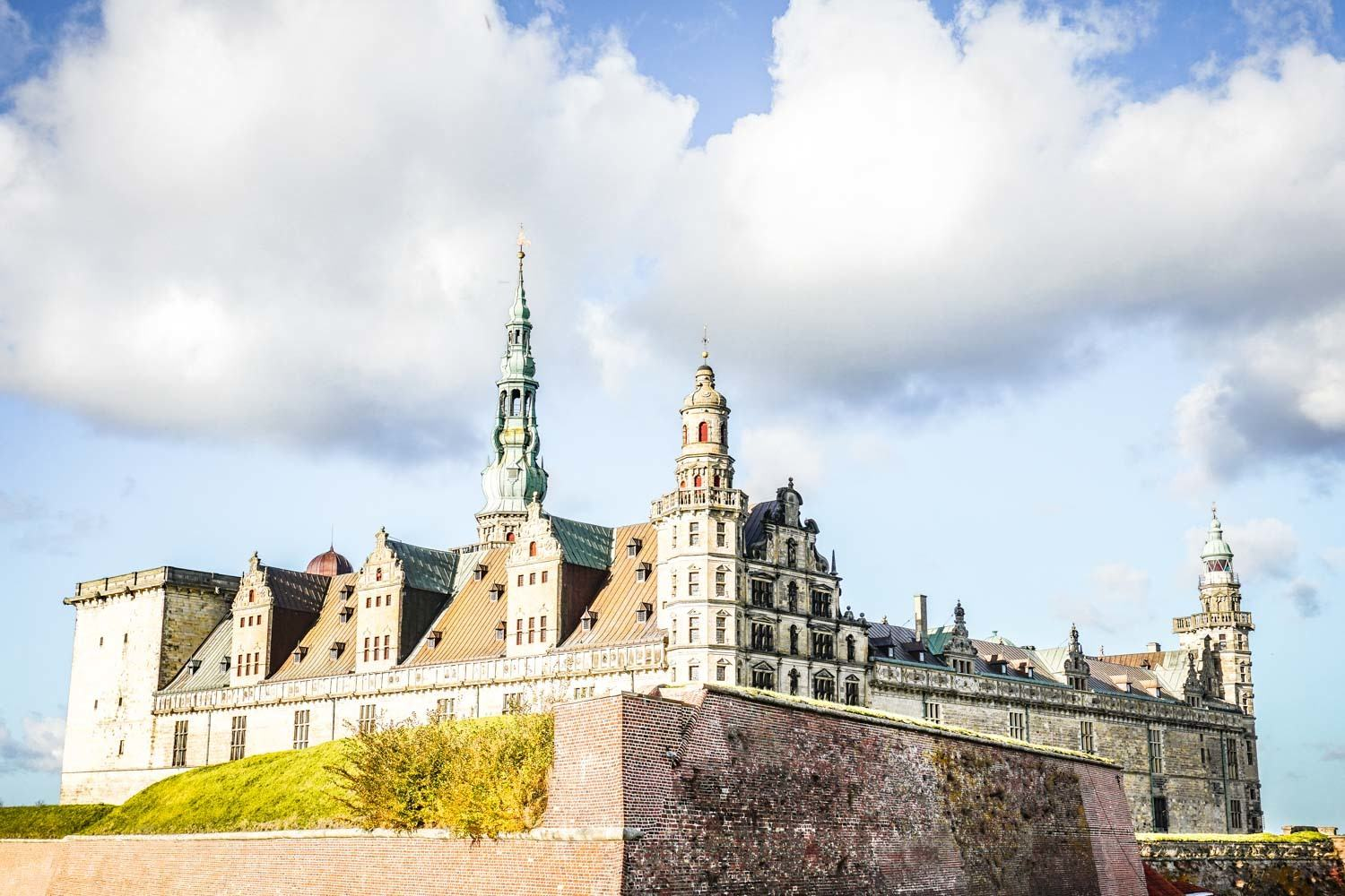 Kronborg Slot is also included in the Copenhagen Card