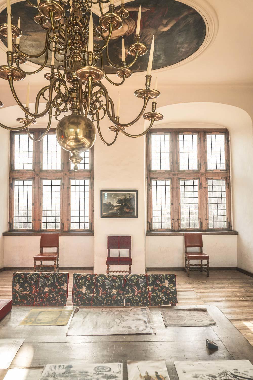Interior of Kronborg Castle, Denmark