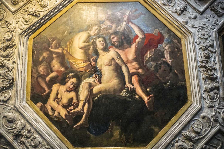 Decadent art in Rosenborg Castle