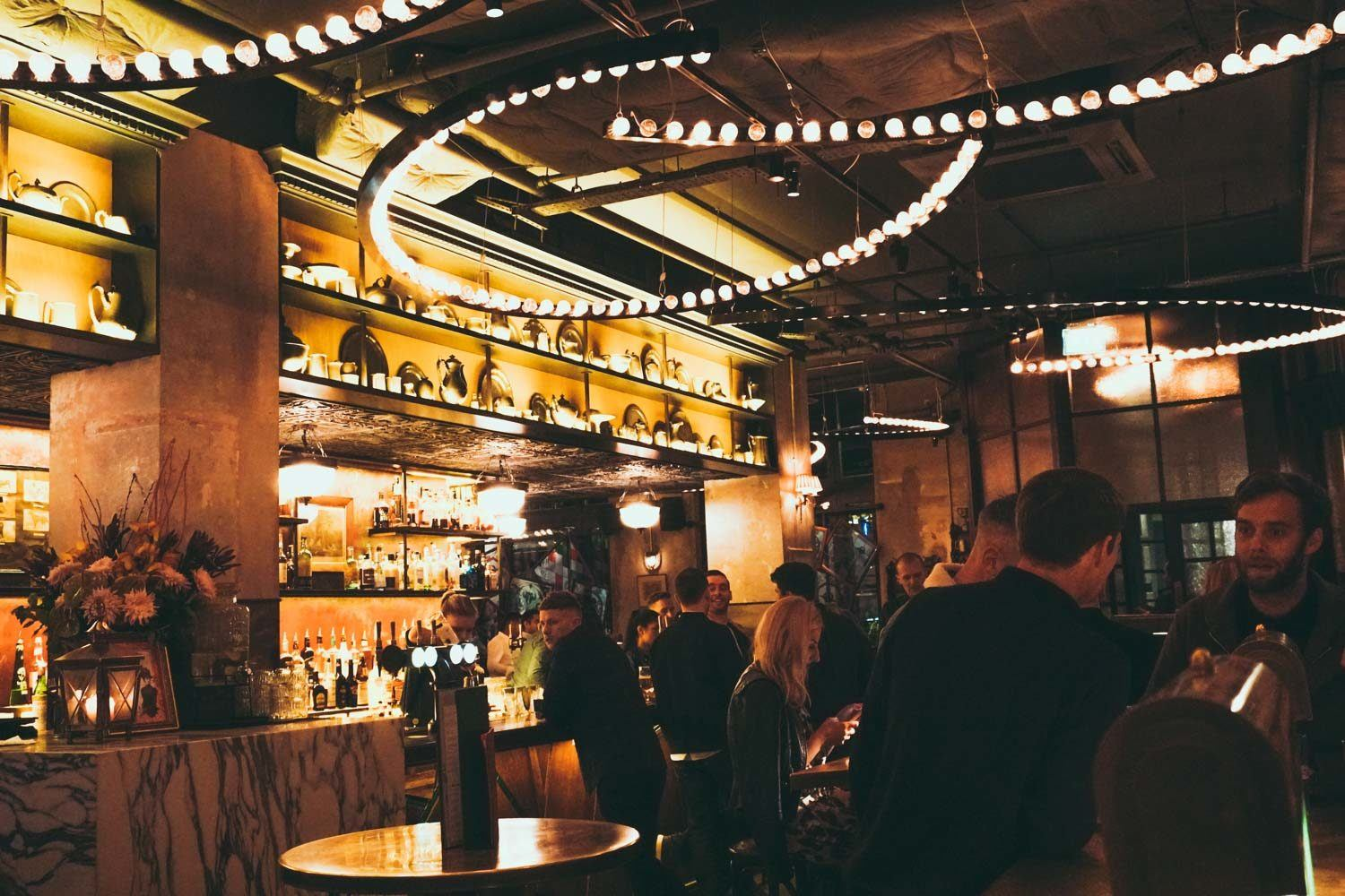Flight Club Bar, Shoreditch London