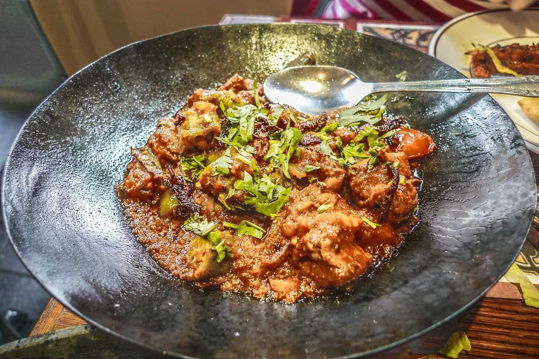 Curry on Brick Lane, Shoreditch