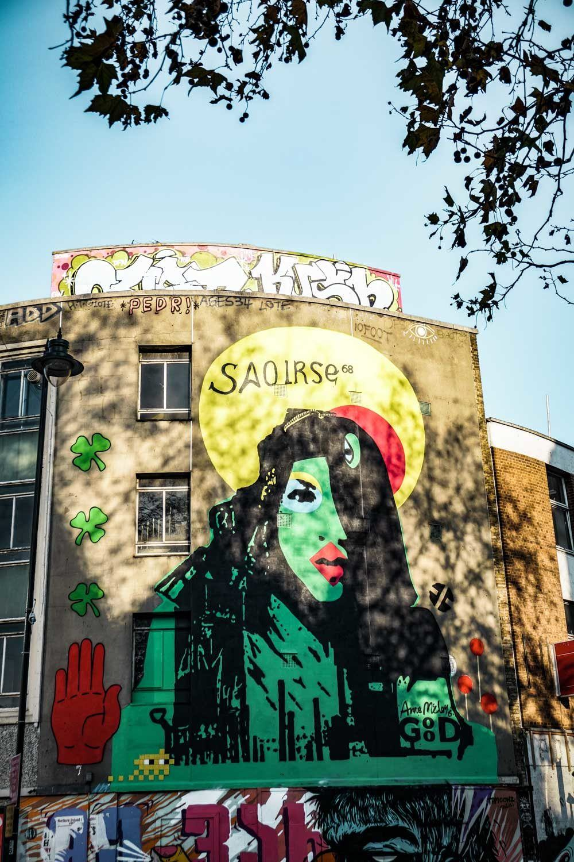Saoirse 68 Anne Mccloy - Street art in Shoreditch