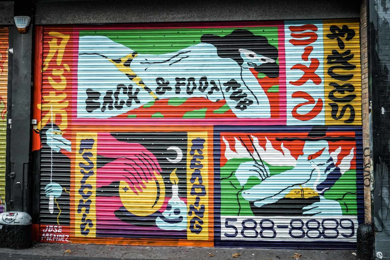 Shoreditch Street Art - Red Gallery  London