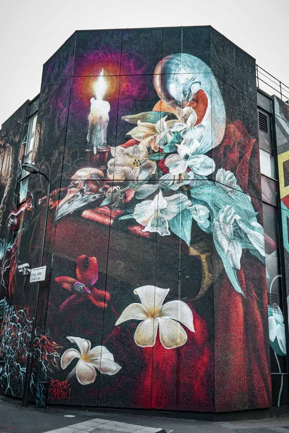 Gorgeous street art in London