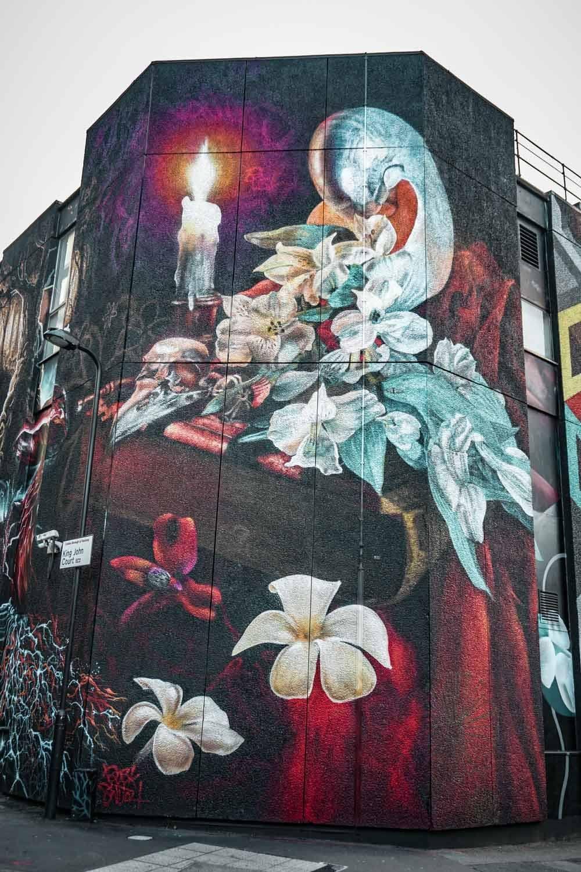 Gorgeous street art in london