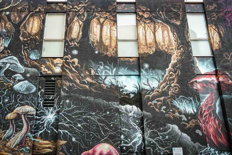 Exploring Connectivity - Street art in London