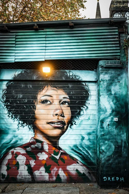 Dreph - Shoreditch Graffiti Walls