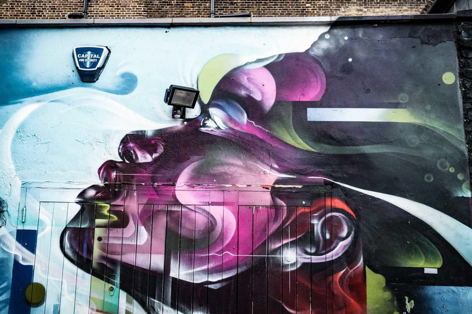 Mr Cenz - Shoreditch Graffiti Walls