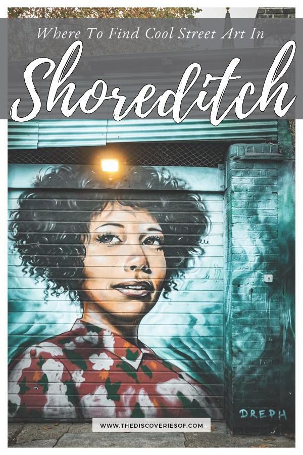 Shoreditch Street Art Guide, London