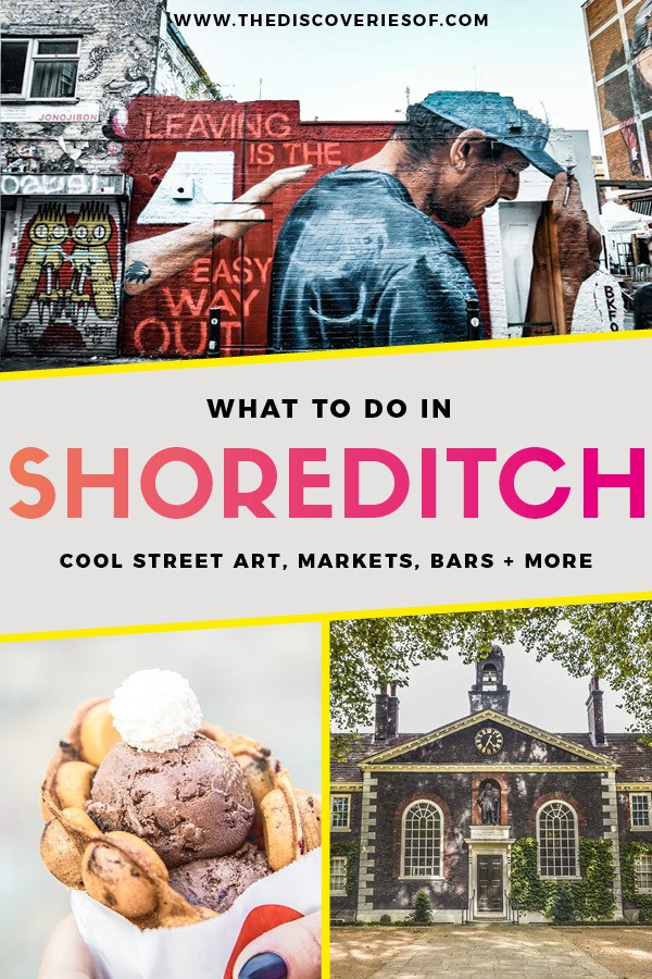 13 awesome things to do in Shoreditch London, what to see, where to eat, street art and more