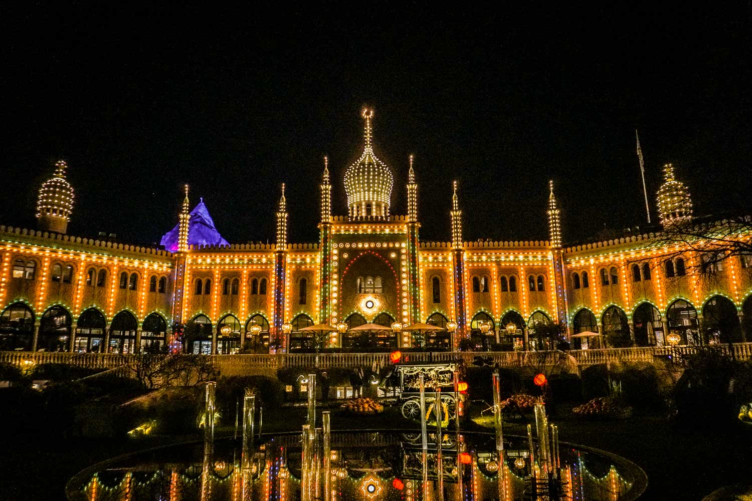 Visiting the magical Tivoli Gardens